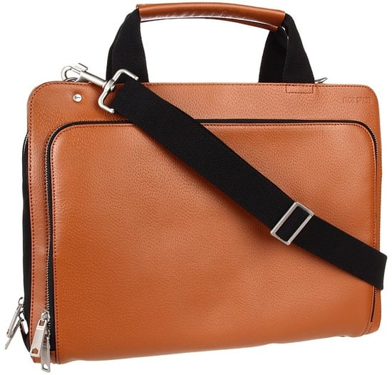 Jack Spade - Split Brief (Tobacco) - Bags and Luggage