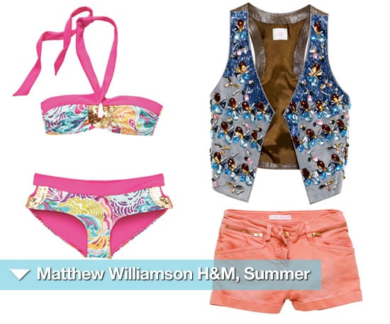Clothing Items From Matthew Williamson For H&M Summer Collection