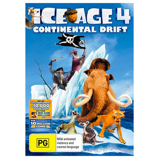 Ice Age 4: Continental Drift, $20