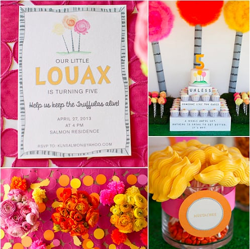 A Girlie Lorax Party