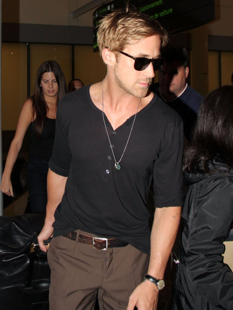 Ryan Gosling in a tight shirt.
