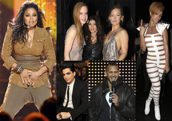 Photos of Keith Urban, Kate Hudson, Kelly Clarkson, Black Eyed Peas, Fergie, Janet Jackson at American Music Awards 2009-11-23 06:00:00