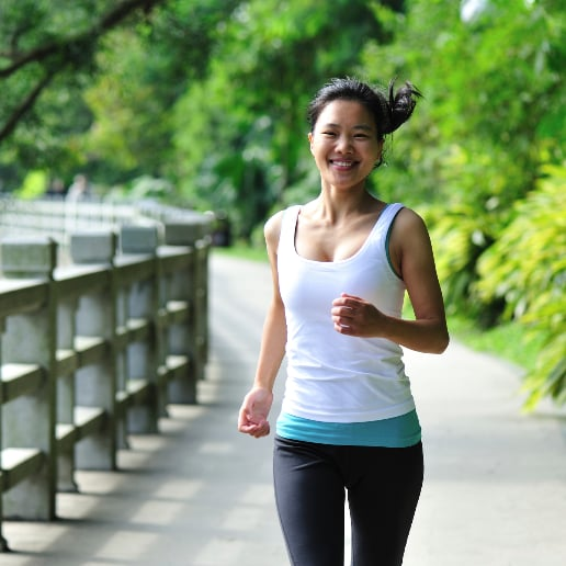 Recovery Run to Reduce DOMS