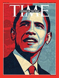 Barack Obama Wins Time Magazine's Person of the Year