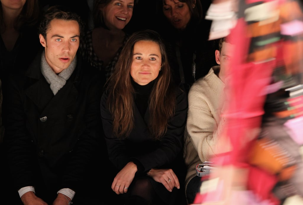 Pippa Middleton and her brother, James Middleton, saw Issa in London in February 2010.