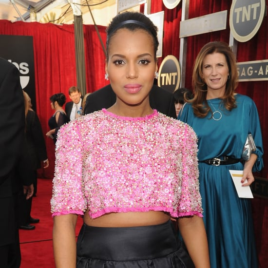 Kerry Washington's Hair and Makeup at SAG Awards 2014