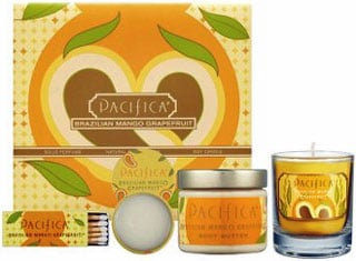 Friday Giveaway! Win a Pacifica Brazilian Mango Grapefruit Travel Set