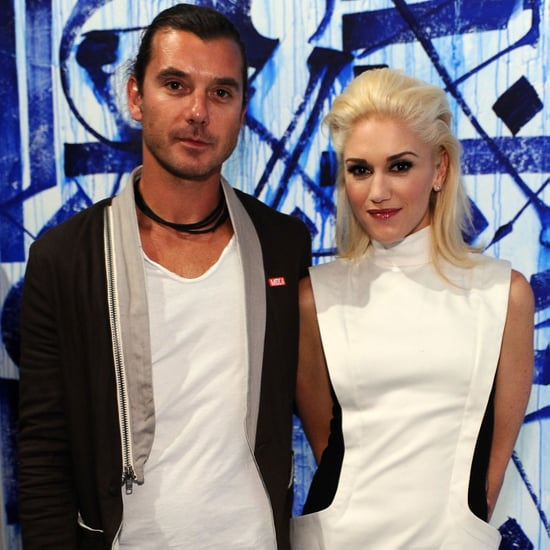 Gwen Stefani, Gavin Rossdale, and Drew Barrymore at MOCA 2011-04-15 06:57:06
