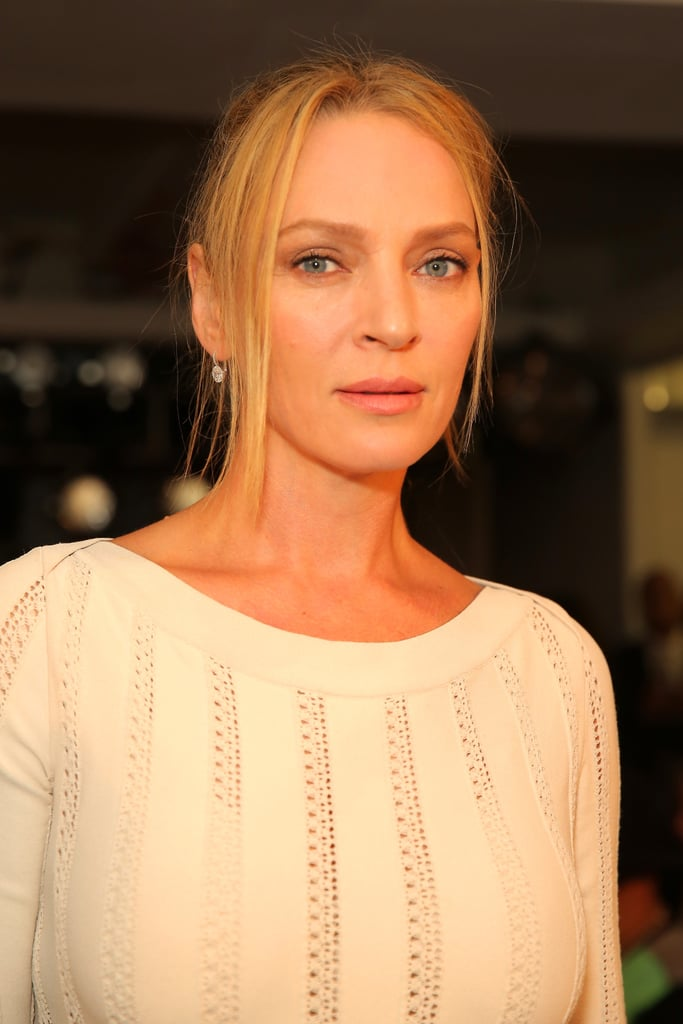 Uma Thurman at Zac Posen