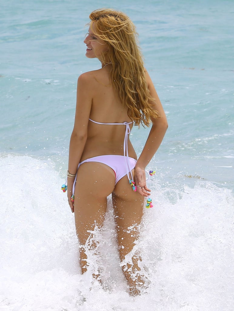 Bikini-Clad Bella Thorne Makes a Splash in Miami