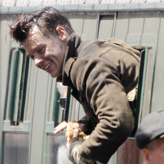 Harry Styles on Set of Dunkirk July 2016
