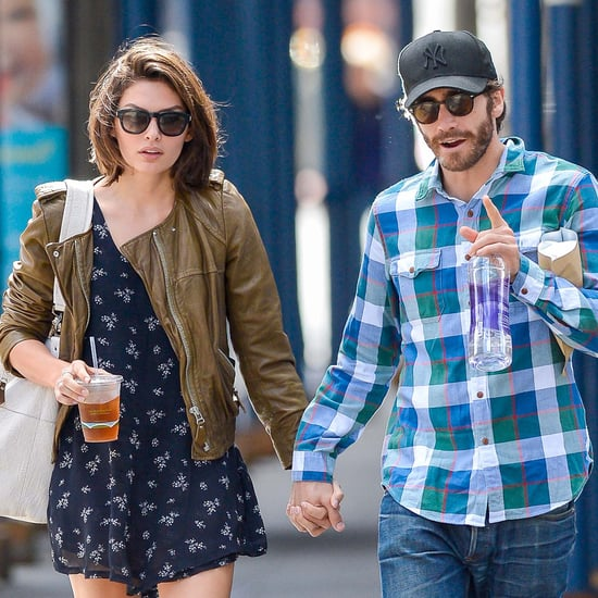 Jake Gyllenhaal and Girlfriend Alyssa Miller in NYC