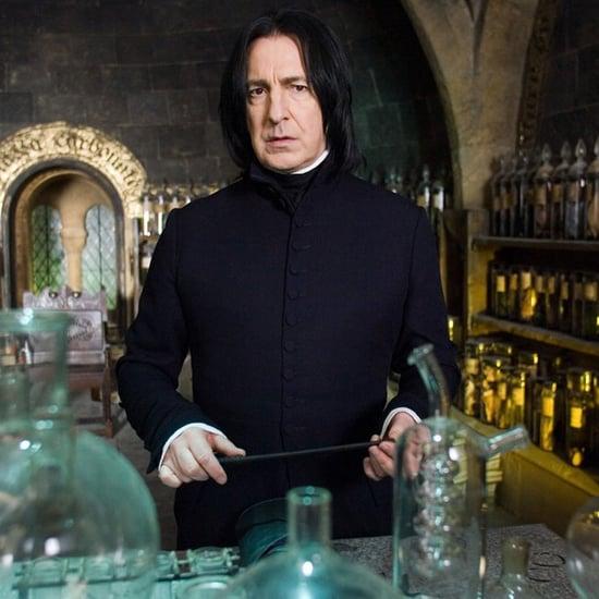 Alan Rickman Snape Video