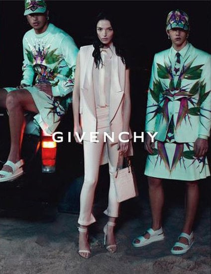 Gothic Gidget seems to be the theme of these toned-down Givenchy Spring '12 beach shots. Source: Fashion Gone Rogue