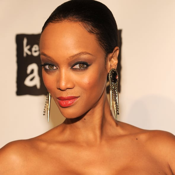 Tyra Banks On The Runway: POPSUGAR Fashion