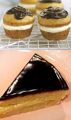 Boston Cream Pie Two Ways — Beginner and Expert