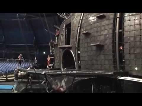 Trampoline Tricks From Cirque du Soleil