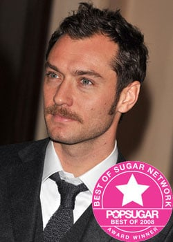 Best of 2008: Jude Law Has PopUK's Favourite Moustache-For-a-Role