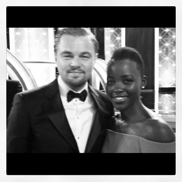 When She Fangirled Over Leo at the Golden Globes