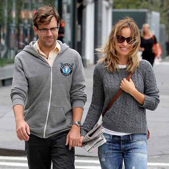 Olivia Wilde and Jason Sudeikis Holding Hands in NYC