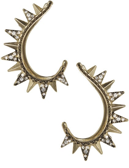 We're always on the lookout for pieces that look expensive but aren't, and these Arden B. Tribal Spike Ear Cuffs ($19) are definitely it. They could have easily passed on the Met Gala red carpet.