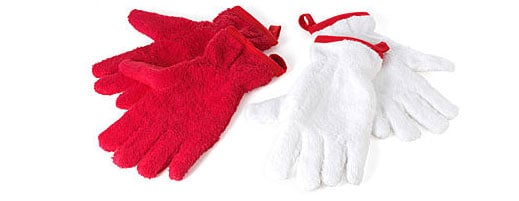Would You Use These? Grab and Dry Terry Dishtowel Gloves