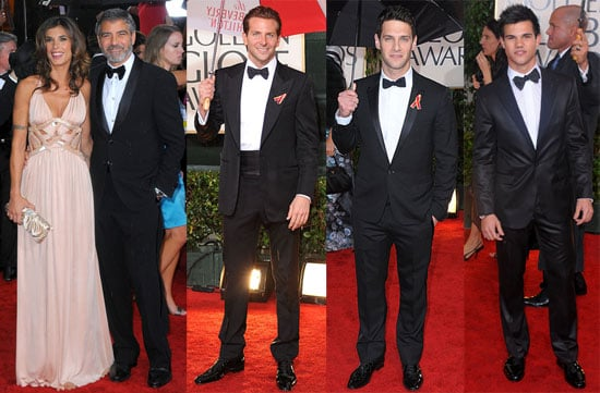Photos from the Red Carpet at the 2010 Golden Globes