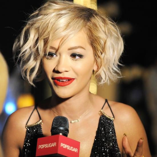 Rita Ora Interview at Cannes Film Festival 2014