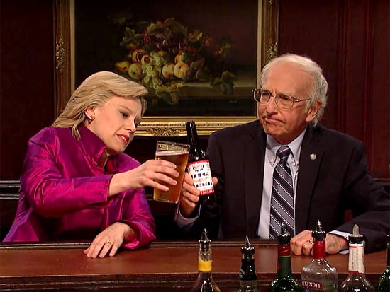 Hillary Clinton and Bernie Sanders Swapped Secrets and Showed Off Their Dance Moves on SNL Finale