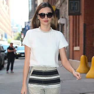 Best Dressed Celebrity Street Style: Miranda Kerr Rose Byrne