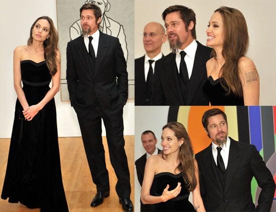 Photos of Angelina Jolie and Brad Pitt at MOCA Event