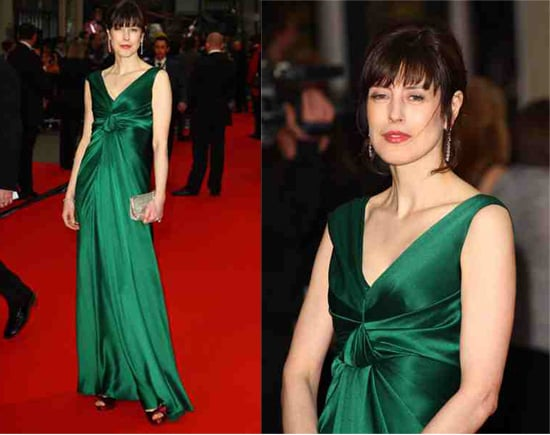 Guess Who Designed Gina McKee's Dress