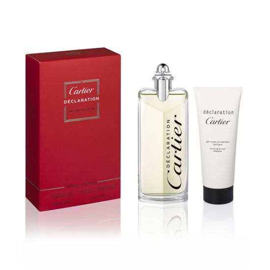 This classic Cartier Déclaration ($100) fragrance comes with a limited-edition all-over shampoo for the holiday. But it's what's inside that will have him most intrigued: the eau de toilette contains spicy, woody notes of birchwood, bergamot, cardamom, vetiver, and oakmoss.