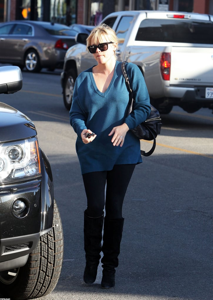 Reese Witherspoon walked in LA.