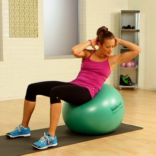Stability Ball Ab Workout | Video