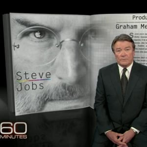 Walter Isaacson's Steve Jobs 60 Minutes Interview Video