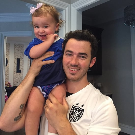 Kevin Jonas With Daughter Alena Instagram Picture