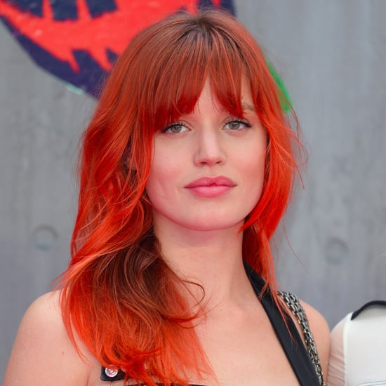 Georgia May Jagger's Orange Hair Colour