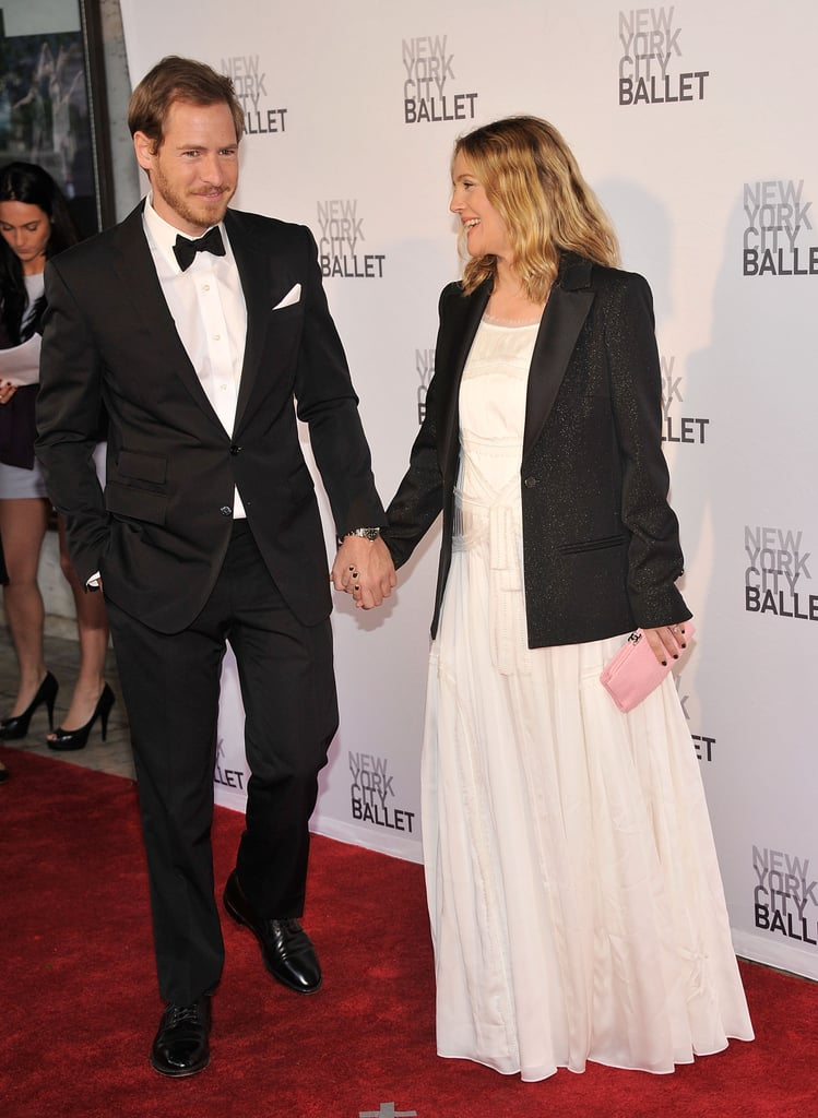 Will Kopelman and Drew Barrymore were all dressed up for New York City Ballet's 2012 Spring Gala.