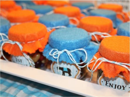 Upcycle Your Baby Food Jars Into Party Favors