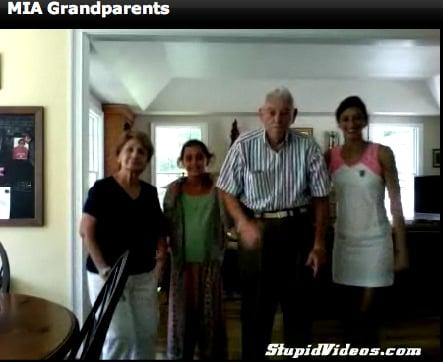 "Grandparents and Grandkids Dance to MIA's ""Paper Planes"""