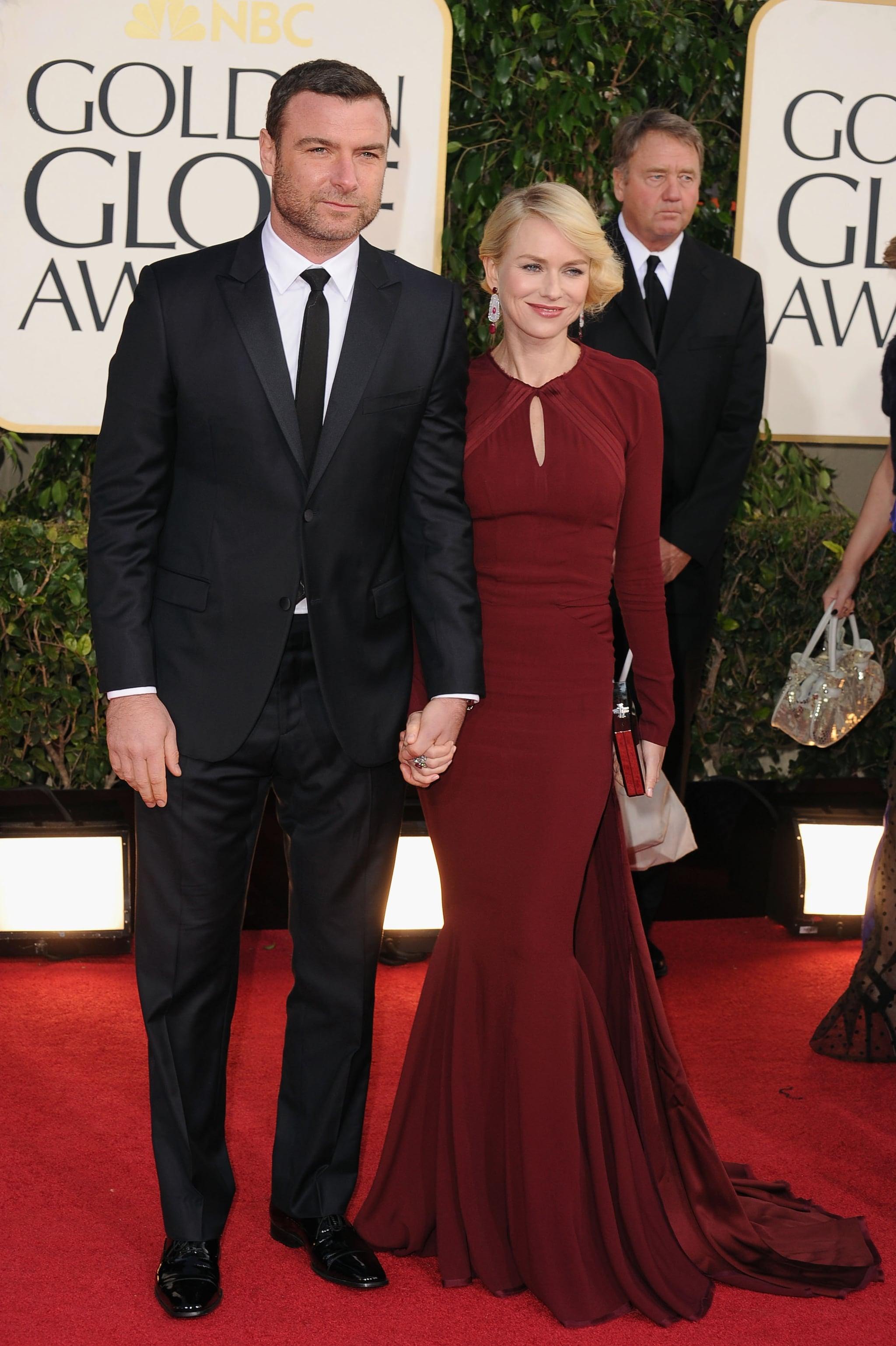 Liev Schreiber and Naomi Watts | Star Couples Sparkle at ...