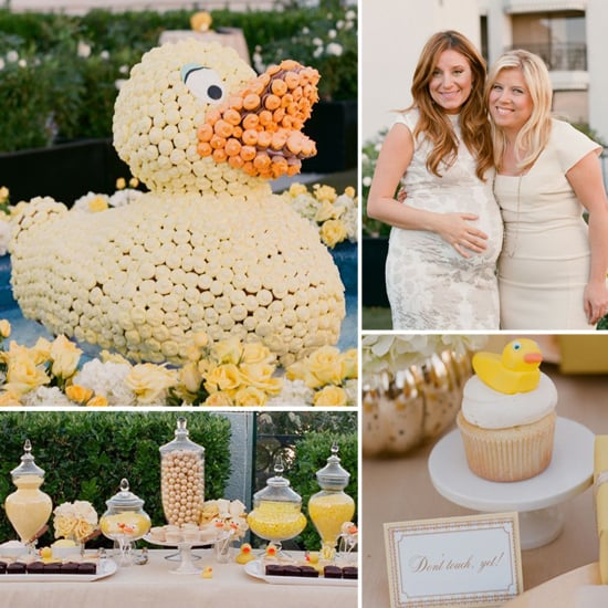 Baby Showers Dc ~ Georgetown cupcakes rubber duck gender reveal baby shower