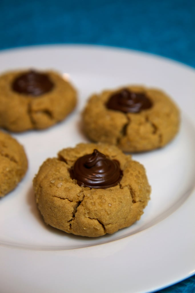 Vegan Peanut Butter Kiss Cookies
