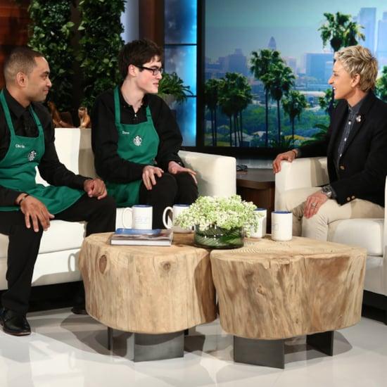 Starbucks Hires Boy With Autism
