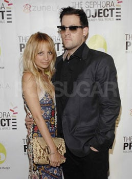 Photo of Nicole Richie and Joel Madden at the Sephora Project Launch Party