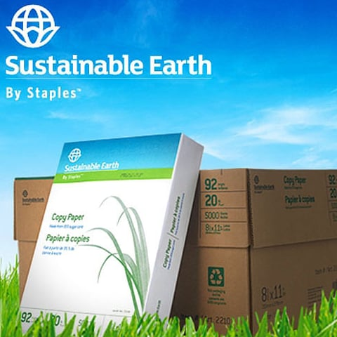 Enter to Win Sustainable Office Supplies From Staples