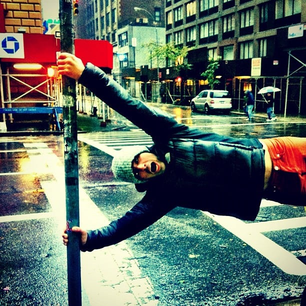 Joe Jonas got caught up during Sandy. Source: Instagram user adamjosephj
