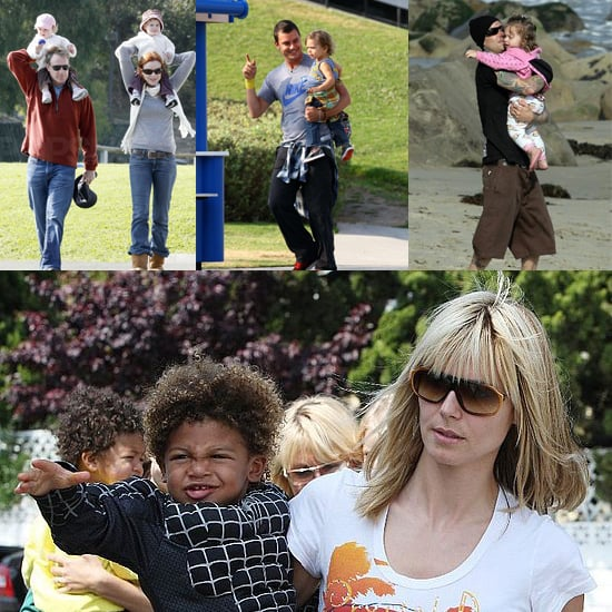 Celebrities and Their Babies Over the Weekend 2008-04-07 11:00:52