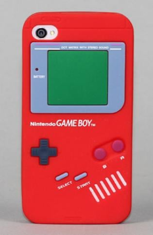 Yamamoto Industries Game Boy iPhone 4/4S Red Case ($17)
